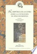 La república de las letras: Publicaciones periódicas y otros impresos