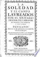 La soledad y el campo, laureados por el solitario de Roma, y el labrador de Madrid, San Benito, y San Isidro