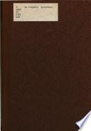 La Tragedia paraguaya; datos para el análisis de la gestión gubernativa del tira o Stroessner