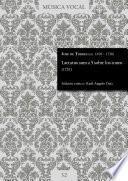 Laetatus sum a 5 sobre los tonos (1728)