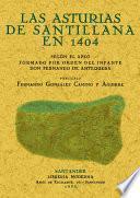 Las Asturias de Santillana en 1404