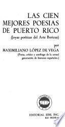 Las cien mejores poesías de Puerto Rico