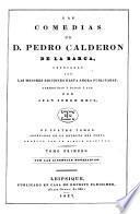 Las comedias de D. Pedro Calderon de la Barca