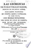 Las geórgicas de Publio Virgilio Maron ...