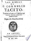 Las Obras Traducidas de Latin en Castellano por Emanuel Sveyro