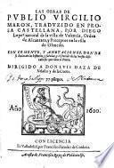 Las obras. Trazudido en prosa Castellana por Diego Lopez. Con comento y anotaciones (etc.)