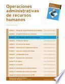 Las relaciones laborales en la empresa (Operaciones administrativas de recursos humanos)