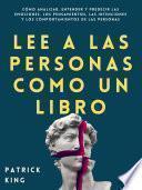Lee a las personas como un libro