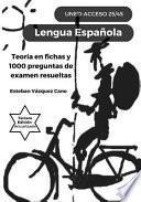 Lengua Española. UNED Acceso 25/45