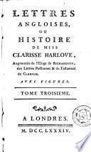 Lettres angloises, ou Histoire de miss Clarisse Harlove, 3