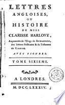 Lettres angloises, ou Histoire de miss Clarisse Harlove, 6