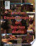 Lexicon etnolectológico del quichua andino