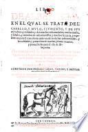 Libro de albeiteria