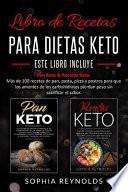 Libro de recetas para dietas keto.