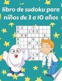 libro de sudoku para niños de 3 a 10 años