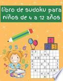 libro de sudoku para niños de 4 a 12 años