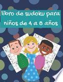 libro de sudoku para niños de 4 a 8 años