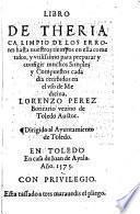 Libro de theriaca, etc
