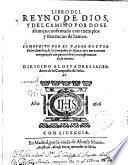 Libro del Reyno de Dios