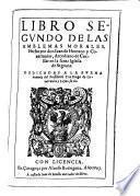 Libro segundo [-tercero] de los Emblemas morales