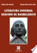Literatura Universal 2o Bachillerato