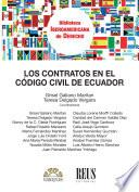 Los contratos en el Código civil de Ecuador