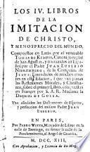Los IV libros de la imitación de Christo y menosprecio del mundo