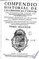 Los Quarenta libros del compendio historial de las chronicas y universal historia de todos los reynos de España, 2