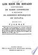 Los Reos de estado convencidos de haber conspirado à destruir el gobierno monarquico en España