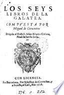 Los seys libros de la Galatea