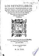 Los veynte libros de Flavio Iosepho, de las antiguedades Iudaycas, y su vida por el mismo escripta ... ; todo nueuamente traduzido de latin en romance castellano