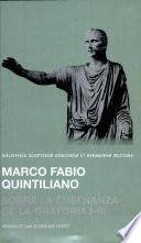 M. Fabii Quintiliani De institutione oratoria libri I-III