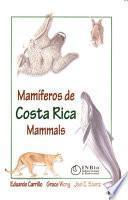Mamiโferos de Costa Rica
