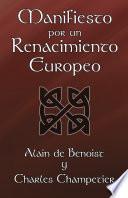 Manifiesto Por Un Renacimiento Europeo