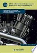 Mantenimiento de motores térmicos de dos y cuatro tiempos : mantenimiento del motor y sus sistemas auxiliares