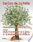 Manual Básico de Matemáticas Financieras