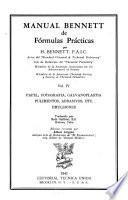Manual Bennett de fórmulas prácticas