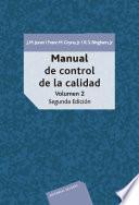 Manual de control de calidad vol 2