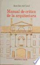 Manual de crítica de la arquitectura