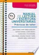 Manual de lectura y escritura universitarias