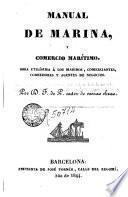 Manual de Marina, y comercio maritimo