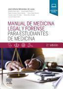 Manual de Medicina Legal Y Forense Para Estudiantes de Medicina