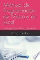 Manual de Programación de Macros en Excel