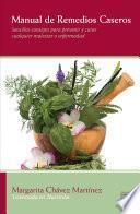 Manual de remedios caseros