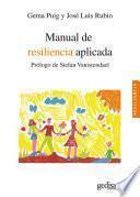 Manual de resiliencia aplicada