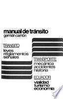 Manual de tránsito