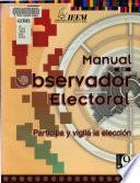 Manual del observador electoral
