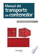 Manual del transporte en contenedor