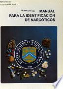 Manual para la identification de narcoticos