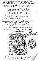 Marsilii Cagnati ... De sanitate tuenda Libri duo